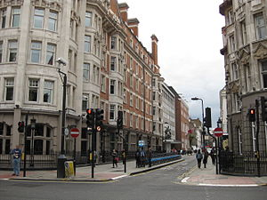 Great Russell Street - Great Russell Street viewed from its junction with Bloomsbury Street
