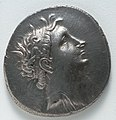 Greece, Bithynia, reign of Nicomedes II - Tetradrachm- Nicomedes II (obverse) - 1917.990.a - Cleveland Museum of Art.jpg
