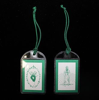 Green Scapular - The Green Scapular.