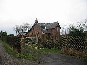 Gristhorpe railway station - Image: Gristhorpe Station