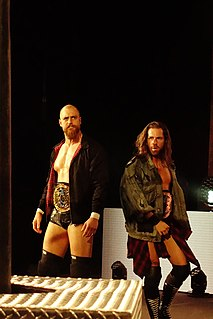 Grizzled Young Veterans Professional wrestling tag team