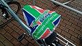 Groninger Belang bicycle seat cover, Winschoten (2019) 03.jpg
