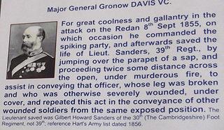 Gronow Davis Recipient of the Victoria Cross