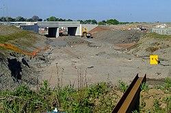 Groundworks at Gogar tram depot (geograph 2401755).jpg