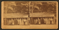 Group of people lined up in front of an 'Eating Saloon.', from Robert N. Dennis collection of stereoscopic views.png