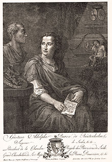 Gustaf Adolf Reuterholm.   Kobberstik