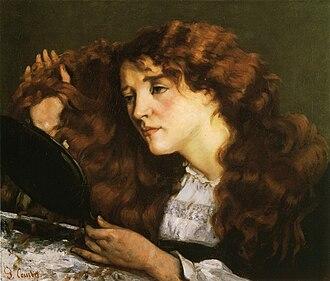 Jo, the Beautiful Irishwoman - Image: Gustave Courbet Jo, la belle Irlandaise (Priv. collection)