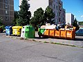 Háje, Kazimírova - Kryštofova, kontejnery.jpg