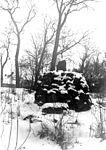 Håga gård, gränsröset vid Hägerstalund, 1953.jpg