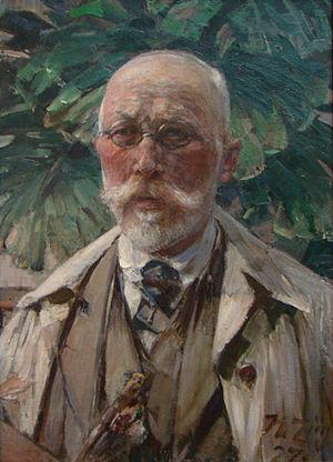 Heinrich von Zügel - Self-portrait (1927)