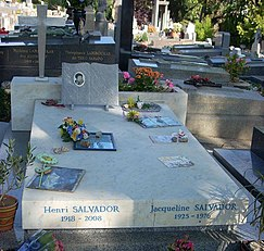 Tomb of Henri Salvador and his wife Jacqueline Salvador : pere chaise - Sectionals, Sofas & Couches
