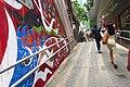 HK 中環 Central 些利街 Shelley Street 香取慎吾 Shingo Katori wall painting Grafitti April 2018 IX2 11.jpg