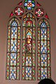 HK 薄扶林 PFL 伯大尼修道院 Béthanie Neo-gothic Chapel 新哥德式教堂 church window interior colorful March 2017 IX1 (2).jpg