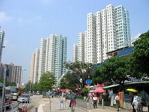Public housing estates in Tai Wai - Carado Garden