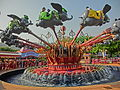 HK Disneyland 小飛象 Dumbo the Flying Elephant Oct-2013 Kiddie Plane Ride.JPG