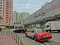 HK Kln Bay Telford Plaza Public Trasport Interchange PTI Taxi n view footbridge.JPG