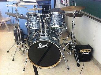 Pearl Drums - Drum kit.
