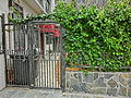HK Sai Ying Pun 德星里 Tak Sing Lane residential building house gate April 2013.JPG