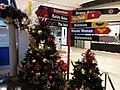 HK TSO 將軍澳 Tseung Kwan O PopCorn mall December 2018 SSG 02 Xmas trees n signs.jpg