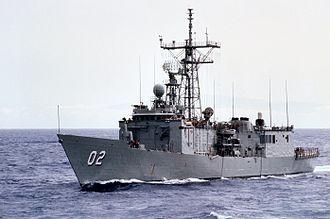 HMAS Canberra (FFG 02) - HMAS Canberra (FFG 02)