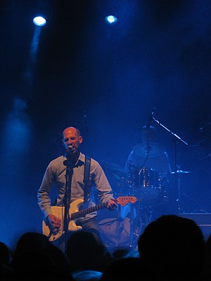 Half Man Half Biscuit - Nigel Blackwell of Half Man Half Biscuit, October 2008