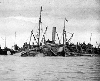 HMS Gladiator (1896) - Raising of HMS Gladiator