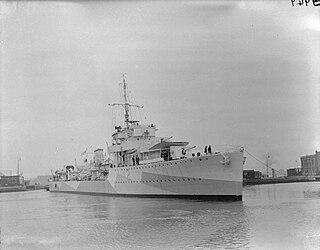 HMS <i>Arrow</i> (H42) A-class destroyer
