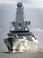 HMS Dauntless Arrives in Porstmouth MOD 45150841.jpg