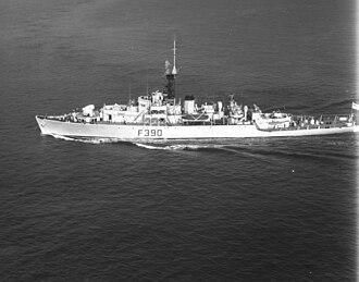 Loch-class frigate - Loch Fada after 1953 modernisation