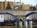 HST JAVELIN 395011 & 395006 Ashford International (11135119923).jpg