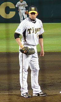 Jeff Williams i Hanshin Tigers dräkt 2009.