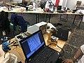 Hackteria au centre de la photo Genève 01.jpg