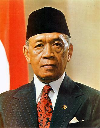 Coordinating Ministry for Economic Affairs (Indonesia) - Image: Hamengku Buwono IX (1973)