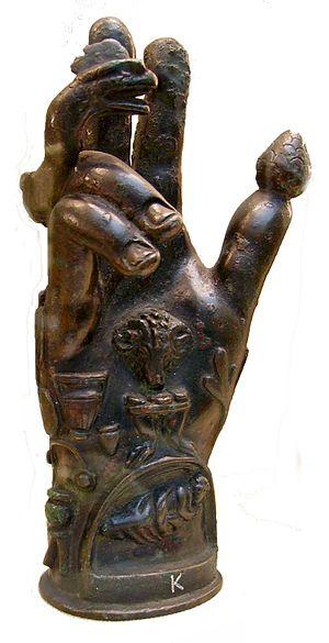 Sabazios - Image: Hand Of Sabazius