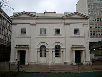 Cemeteries and crematoria in Brighton and Hove - The Nonconformist Hanover Chapel also had its own burial ground.