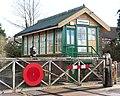Harling Road station - signal box - geograph.org.uk - 1702939.jpg