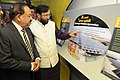 "Harsh Vardhan and the Minister of State for Environment, Forest and Climate Change (Independent Charge), Shri Prakash Javadekar visiting an exhibition, at the flag-off ceremony of the ""Science Express Climate Action Special"" (2).jpg"