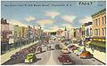 """Hay Street from """"Ye Old Market House"""", Fayetteville, N. C. (5755520851).jpg"""