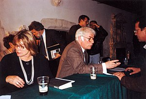 1996 in poetry - Seamus and Marie Heaney, October 4, 1996, during a visit to Kraków, Poland