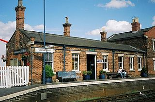 Heckington railway station railway station in Lincolnshire