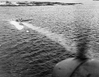 Heinkel He 115 - He 115 shot down by de Havilland Mosquito.