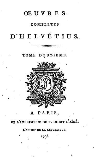 File:Helvétius - Œuvres complètes d'Helvétius, tome 12.djvu
