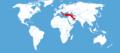Hemaris croatica habitat map.png