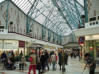 Hempstead, Kent - Image: Hempstead Valley shopping centre geograph.org.uk 100420