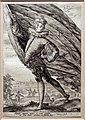 Hendrik goltzius, portatore di standardo, girato a sinistra, 1587, incisione.jpg