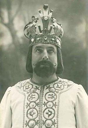 Henri Albers - As Arthus in Chausson's Le roi Arthus