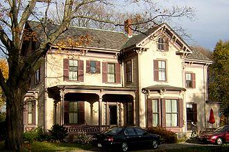 Henry F. Barker House - Image: Henry F Barker House Quincy MA 02