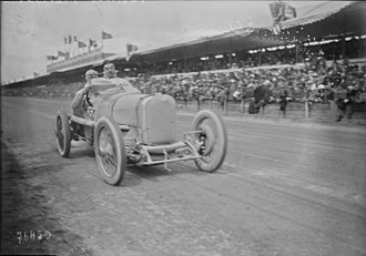 Henry Segrave - Segrave at the 1922 French Grand Prix held in Strasbourg.