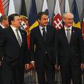 Herman Van Rompuy - José Luis Rodríguez Zapatero - José Manuel Durao Barroso (2010-05-18).jpg