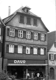 Hesse's birthplace in Calw